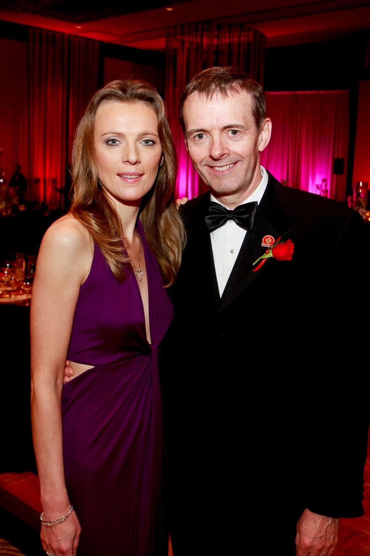 Yulia Pearce and honoree Dr. Daniel Penny