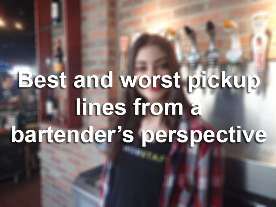 Click through the gallery to see some of the best and worst pick up lines from a bartender's perspective. Photo: Photo Illustration