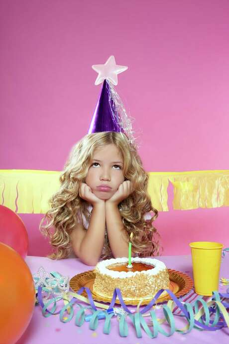 Expect the unexpected at any birthday party. Including an unhappy birthday child or guest. Photo: Tribune News Service / Fotolia