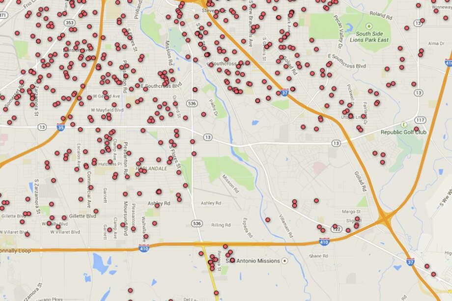 sex offender registry maps