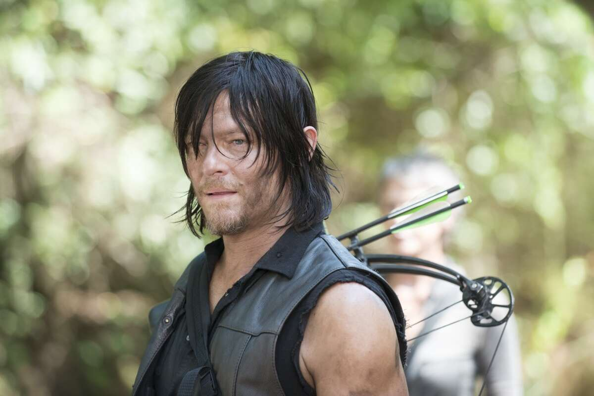 """Daryl Dixon, a.k.a. Norman Reedus of """"The Walking Dead."""""""