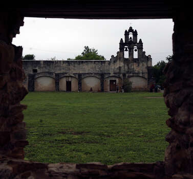 Mission San Juan de Capistrano (1716)  The San Juan Capistrano Mission used to be the East Texas mission of San Jose de los Nazonis before being renamed in 1731. At this same time, it was moved to its present site in San Antonio, 12 miles from the Alamo. Photo: JOHN DAVENPORT, SAEN / jdavenport@express-news.net