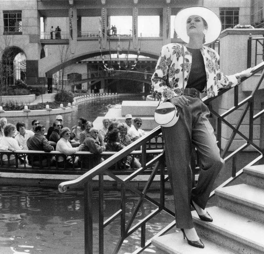Rivercenter Mall in the 1980s.