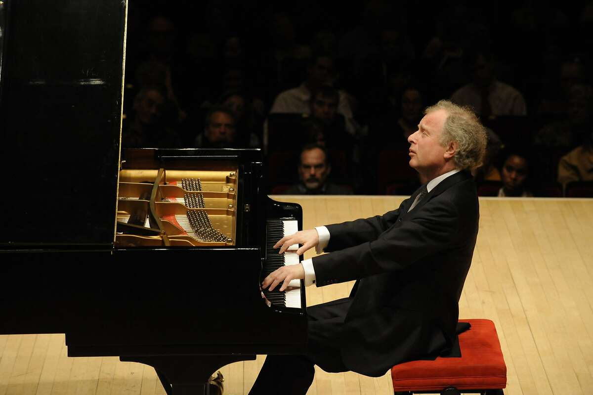 Pianist András Schiff at the Stern Aditorium/Perelman Stage at Carnegie Hall.