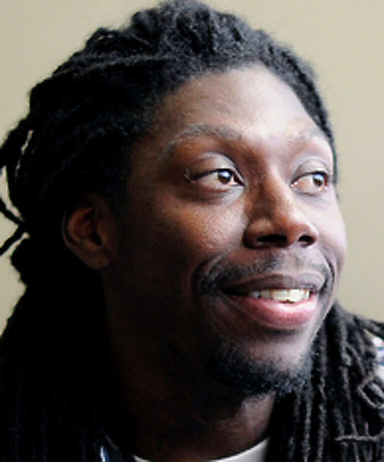Harris Cox, 24, is being honored for his work with Civicorps. Photo: Michael Short / Special To The Chronicle / ONLINE_YES