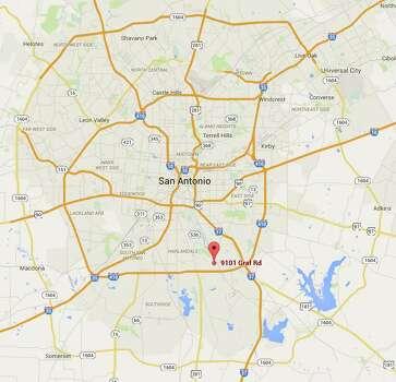 Oldest structures maps in San Antonio Photo: Tyler White, SAEN