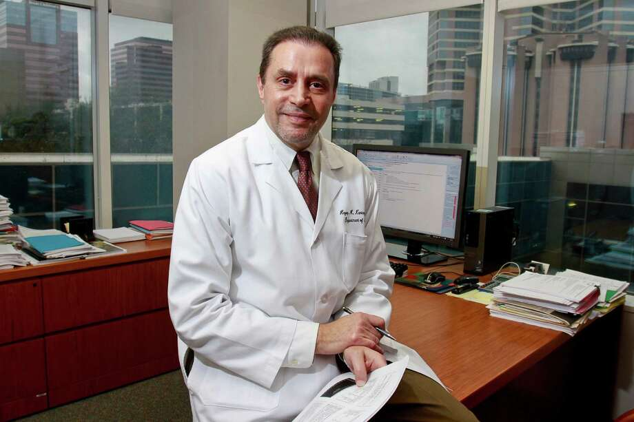 Dr. Hagop Kantarjian, chairman of MD Anderson Cancer Center's leukemia department, is planning an online campaign to collect the signatures of 1 million cancer patients affected by high drug prices. (For the Chronicle/Gary Fountain). Photo: Gary Fountain, Freelance / Copyright 2015 by Gary Fountain