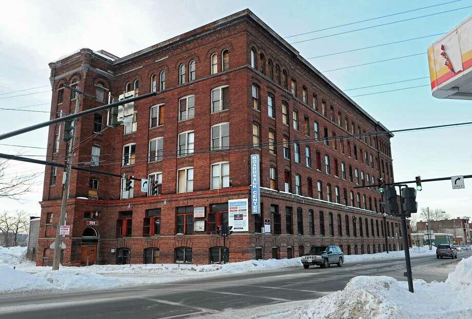 Exterior of the Former Marshall-Ray Corp. factory on Monday, Feb. 16, 2015 in Troy, N.Y. (Lori Van Buren / Times Union) Photo: Lori Van Buren / 00030634A