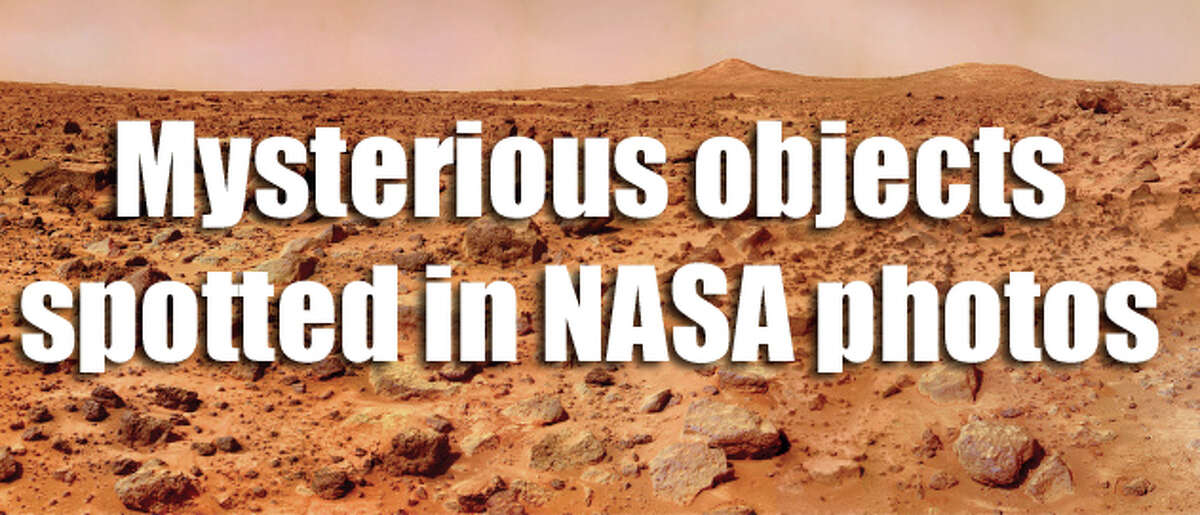 Photos taken by NASA's space shuttles, stations and rovers have always made for good fodder for alien conspiracy theorists. Check out some of the weirdest things spotted in NASA photos ...