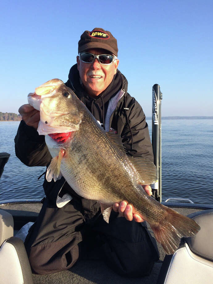 Ray Beck with the big bass of the tournament 11.39 lbs. courtesy photo