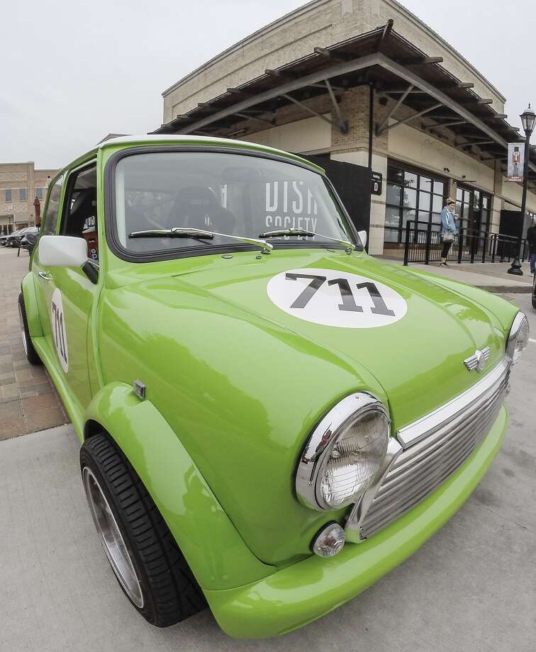 A Classic racing Mini Cooper is displayed at the Ride 'n Shine Car Show at LaCenterra at Cinco Ranch last fall.A Classic racing Mini Cooper is displayed at the Ride 'n Shine Car Show at LaCenterra at Cinco Ranch last fall. Photo: Diana L. Porter, Freelance / © Diana L. Porter