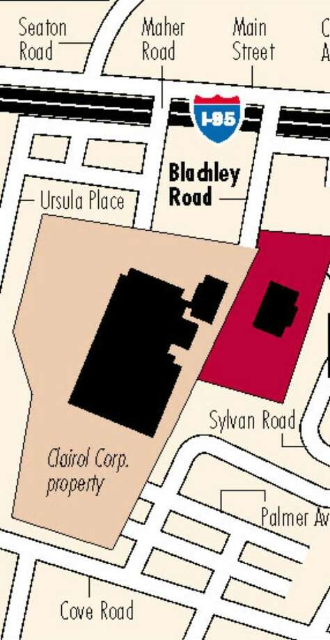 Map showing Clairol Corp. property. Photo: ST