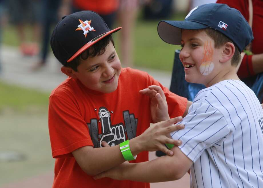 Opening Day Street Fest When: Monday, April 6   Giveaway: Magnet schedules  Who: First 40,000 fans Photo: Melissa Phillip, Houston Chronicle