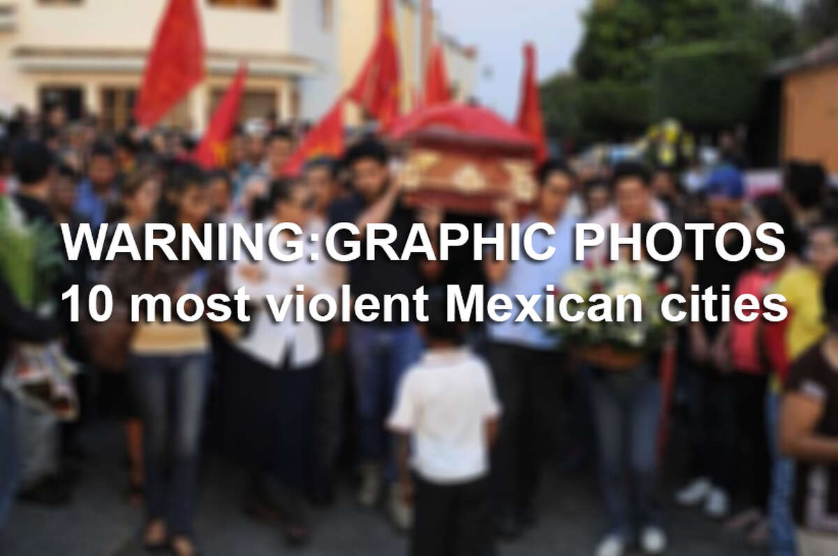 A study by Mexican civil rights organization Seguridad, Justicia y Paz ranked the 50 most violent cities in the world, based on the rate of homicides to population during 2014. Here are the 10 Mexican cities that made the list, ranked from least to most violent.