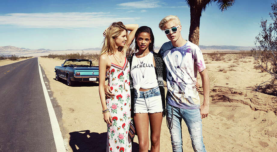 Click through the gallery to see the lookbook for H&M's collaboration with Coachella. Photo: Courtesy H&M