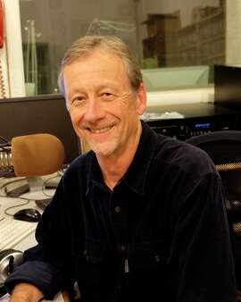 Derk Richardson, who works Thursday nights at KPFA.