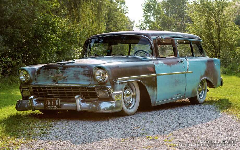 The Chevy 150 came in three models: the sedan, the Handyman wagon, and the club coupe.