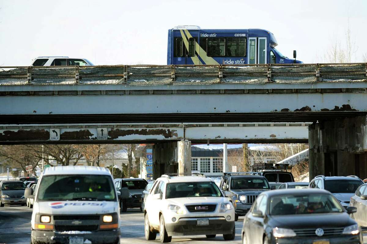 Northway bridges over Albany Shaker Road on Tuesday, Feb. 17, 2015, in Colonie, N.Y. (Cindy Schultz / Times Union archive)