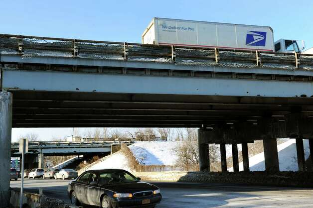 Northway bridges over Albany Shaker Road on Tuesday, Feb. 17, 2015, in Colonie, N.Y. (Cindy Schultz / Times Union) Photo: Cindy Schultz / 00030658A