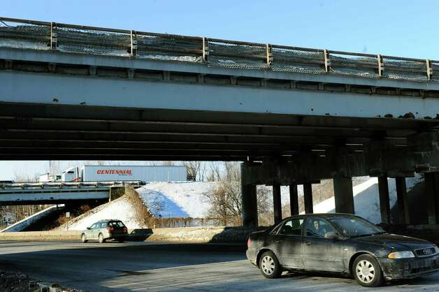 Northway bridges over Albany Shaker Road on Tuesday, Feb. 17, 2015, in Colonie, N.Y. (Cindy Schultz / Times Union archive) Photo: Cindy Schultz / 00030658A