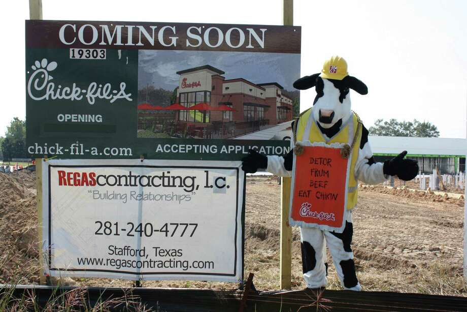 Chick-fil-A Katy Green will open this summer under the direction of franchisee Rusty Wylie at 19303 Katy Freeway at the intersection of Greenhouse Road and Interstate 10. Photo: Courtesy Rusty Wylie
