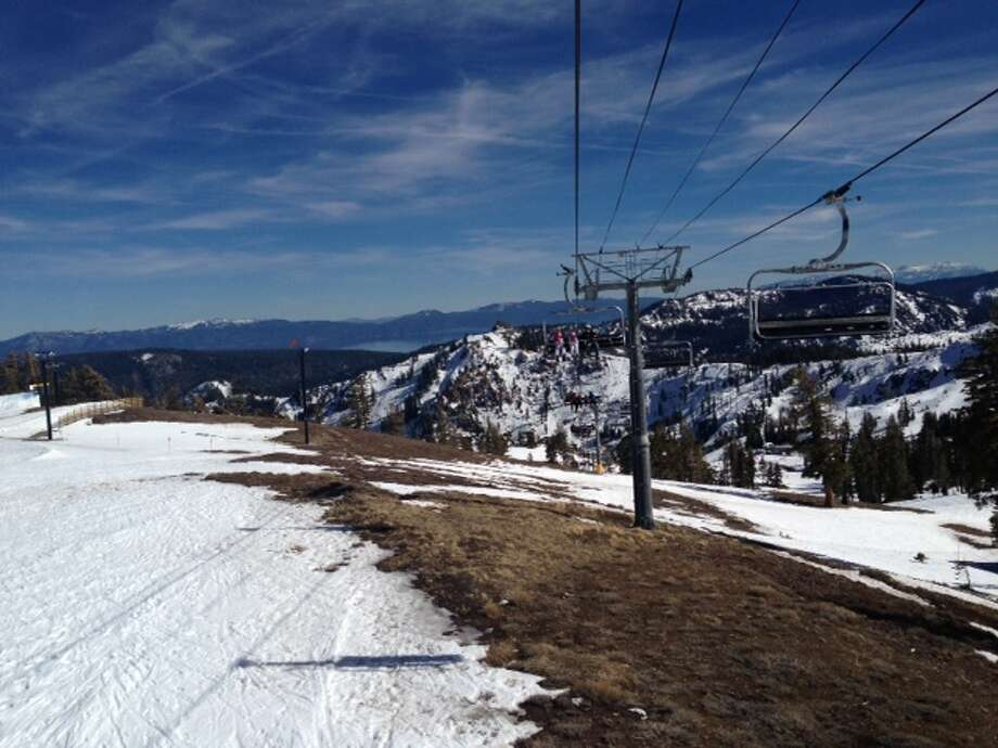 The view at Squaw Valley on Feb. 17, 2015. Photo: Annika Toernqvist, The Chronicle