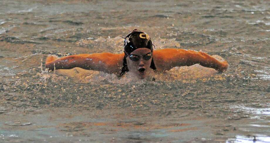 Clear Creek senior Micaela Roemer will head to the UIL State Swimming and Diving Championships for the fourth and last time as a competitor this weekend. Photo: L. Scott Hainline / For The Chronicle