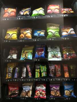Chronicle vending machine in all its (partial, because you can't see all the offerings) glory
