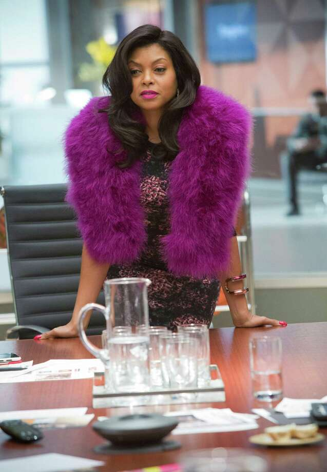 Cookie (Taraji P. Henson) demands attention in fur and fuchsia.  Photo: Photographer:  Chuck Hodes