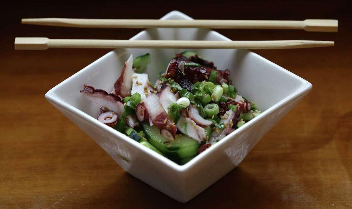 The Octopus Salad from Godai Sushi Bar & Japanese Restaurant.
