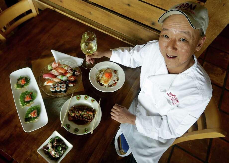 """William """"Goro"""" Pitchford, owner of Godai Sushi Photo: Bob Owen /San Antonio Express-News / © 2012 San Antonio Express-News"""