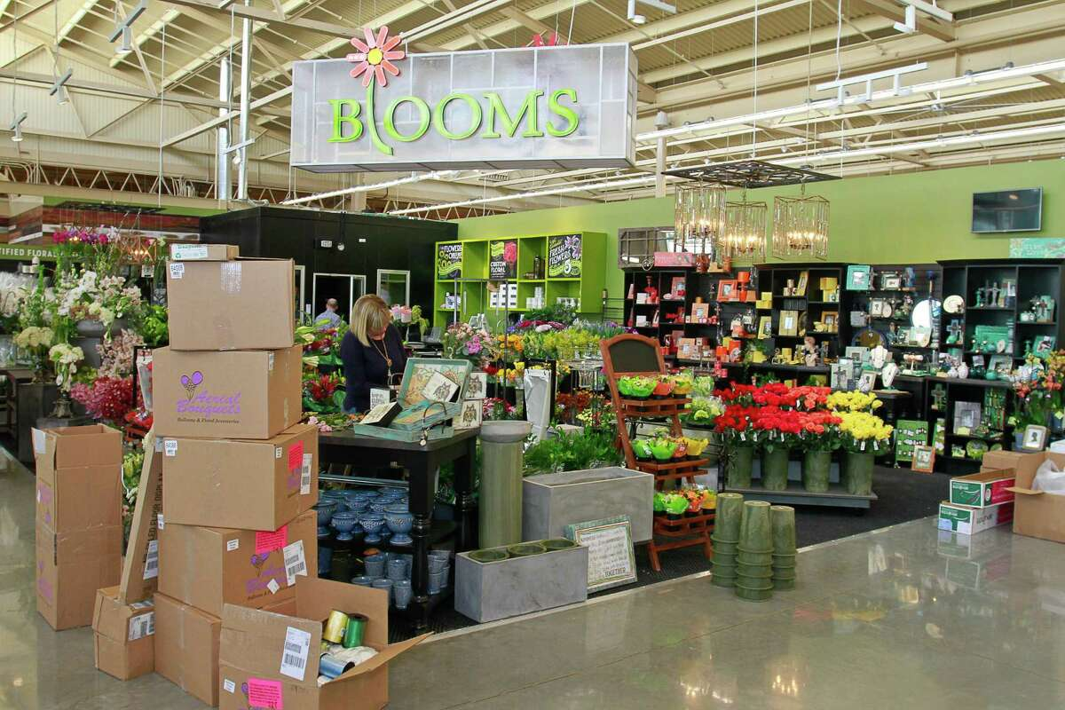 H-E-B Blooms floral department in the new 91,000-square-foot H-E-B on San Felipe in Tanglewood. (For the Chronicle/Gary Fountain, February 17, 2015)