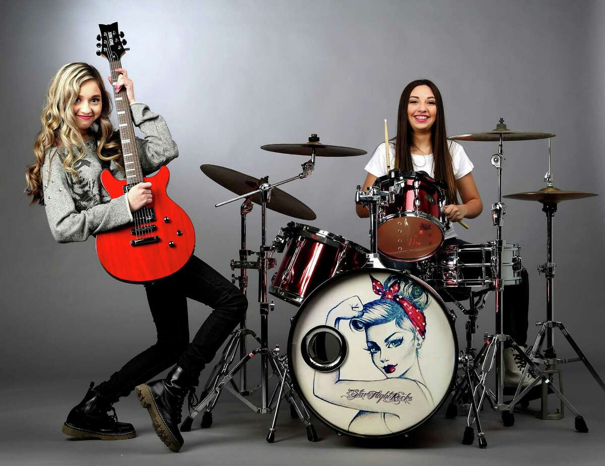 StarFlightRocks Molly Flores, right, of the pop-punk sister duo could add some electric youth to the lineup.