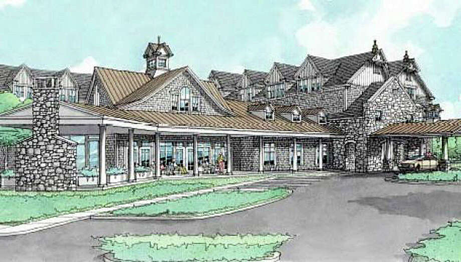 A rendering of the proposed Maplewood at Southport senior residential/care complex, which has been denied by the Inland Wetlands Commission. The applicant, however, plans to address the panel's concerns and file a new plan for the project. Photo: Contributed Photo / Fairfield Citizen