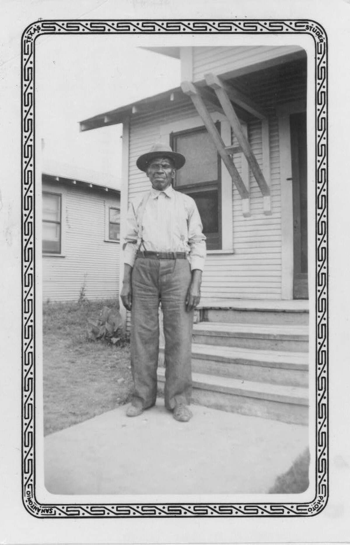 William Watkins San Antonio  ca. 1937-38