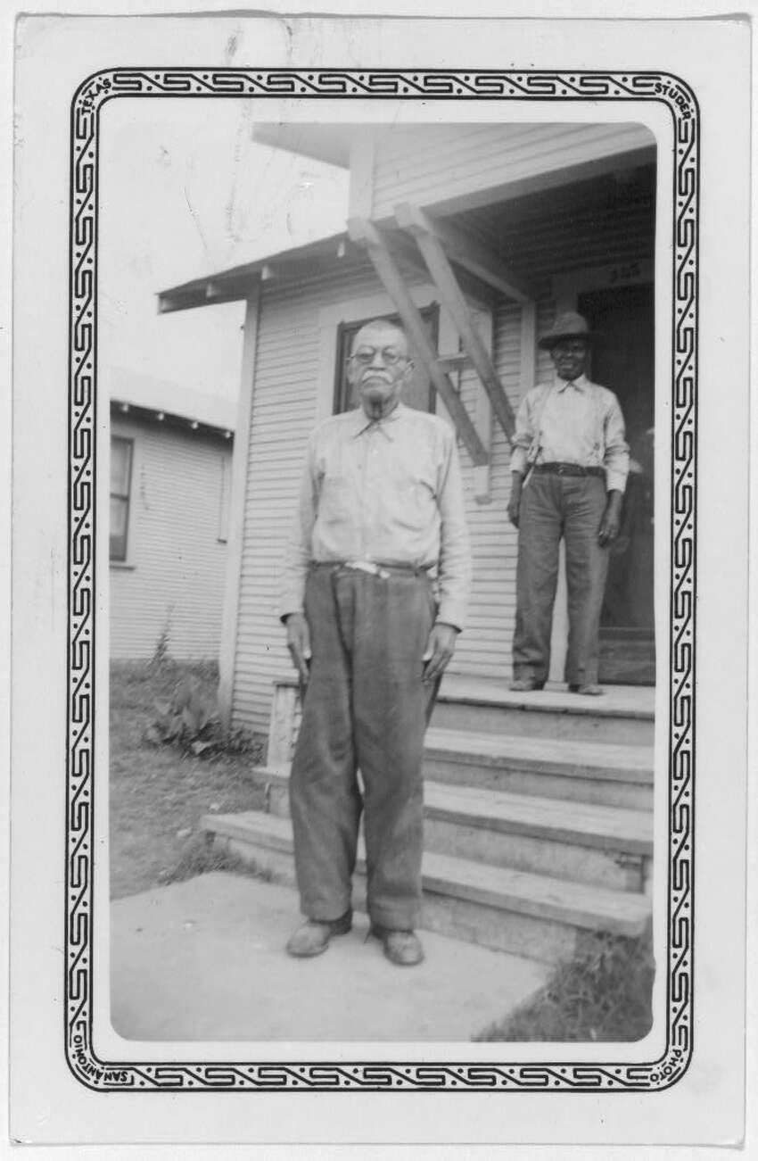 William Branch San Antonio ca. 1937-38
