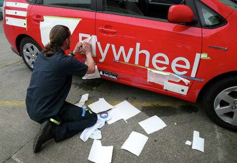 DeSoto, S F 's oldest taxi firm, rebrands itself as Flywheel