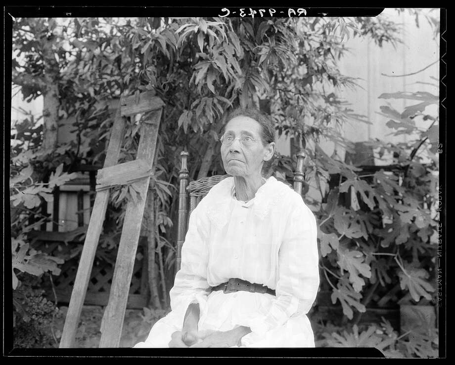 President Franklin D. Roosevelt's New Deal program in the 1930s commissioned writers to document former Texas slaves' narratives:This image from August 1936 shows Annie Moore Schwein was born a slave in Corpus Christi. >>>> Photo: U.S. Works Progress Administration