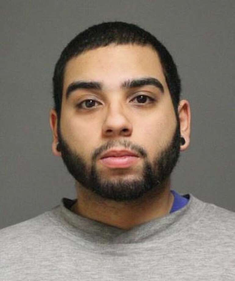 Sergio Molina, 22, of Bridgeport, was arrested on a warrant Tuesday. Photo: Contributed Photo /  Fairfield Citizen contributed
