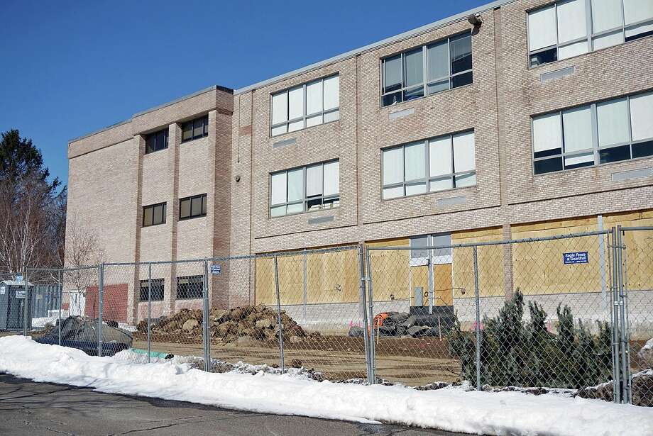 The Board of Selectmen want details on why costs for the Fairfield Ludlowe High School building project have escalated. Photo: Genevieve Reilly / Fairfield Citizen