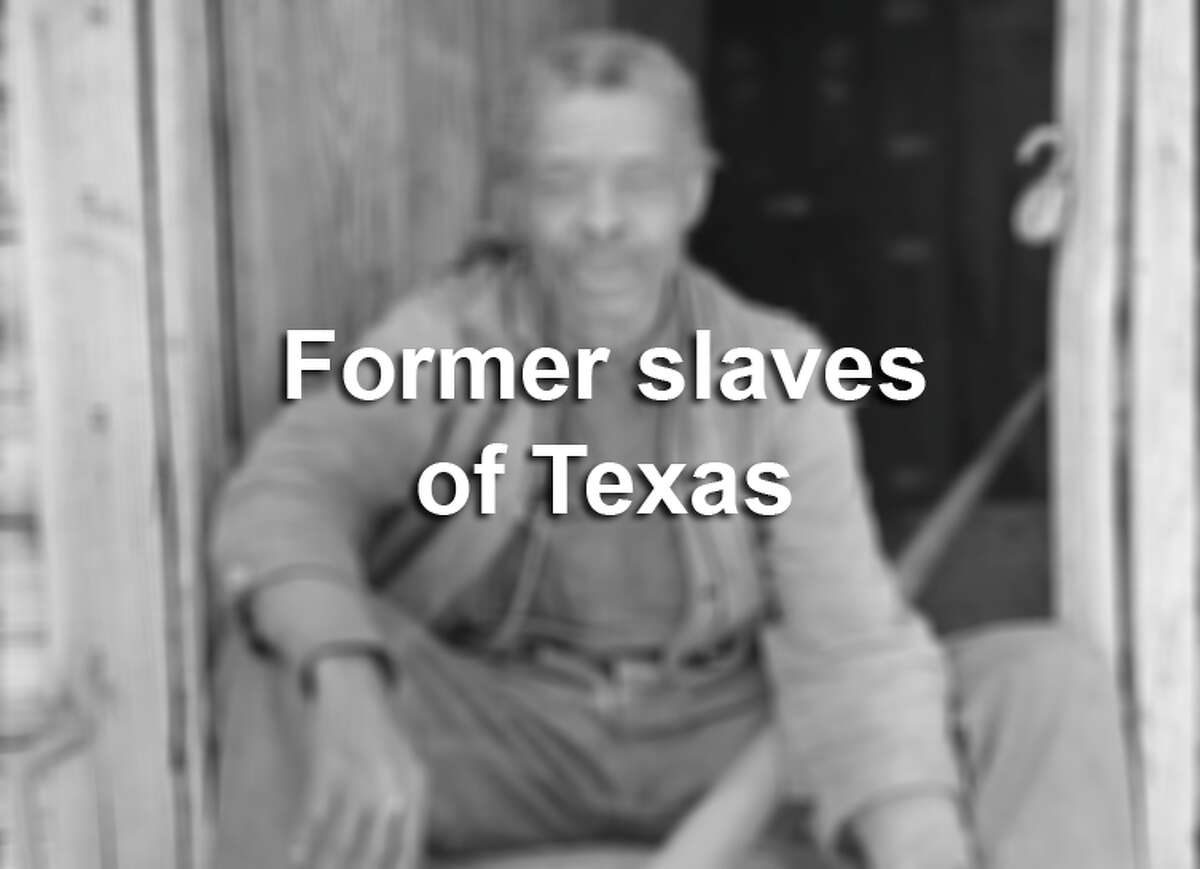 Photographers with the U.S. Works Progress Administration dozens of former slaves living in Texas for inclusion in