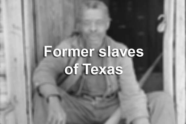 """Photographers with the U.S. Works Progress Administration dozens of former slaves living in Texas for inclusion in """"Slave Narratives: A Folk History of Slavery in the United States"""" — a huge compilation of stories gathered from surviving former slaves in 1937-38 by the Federal Writers' Project, a division of the administration."""