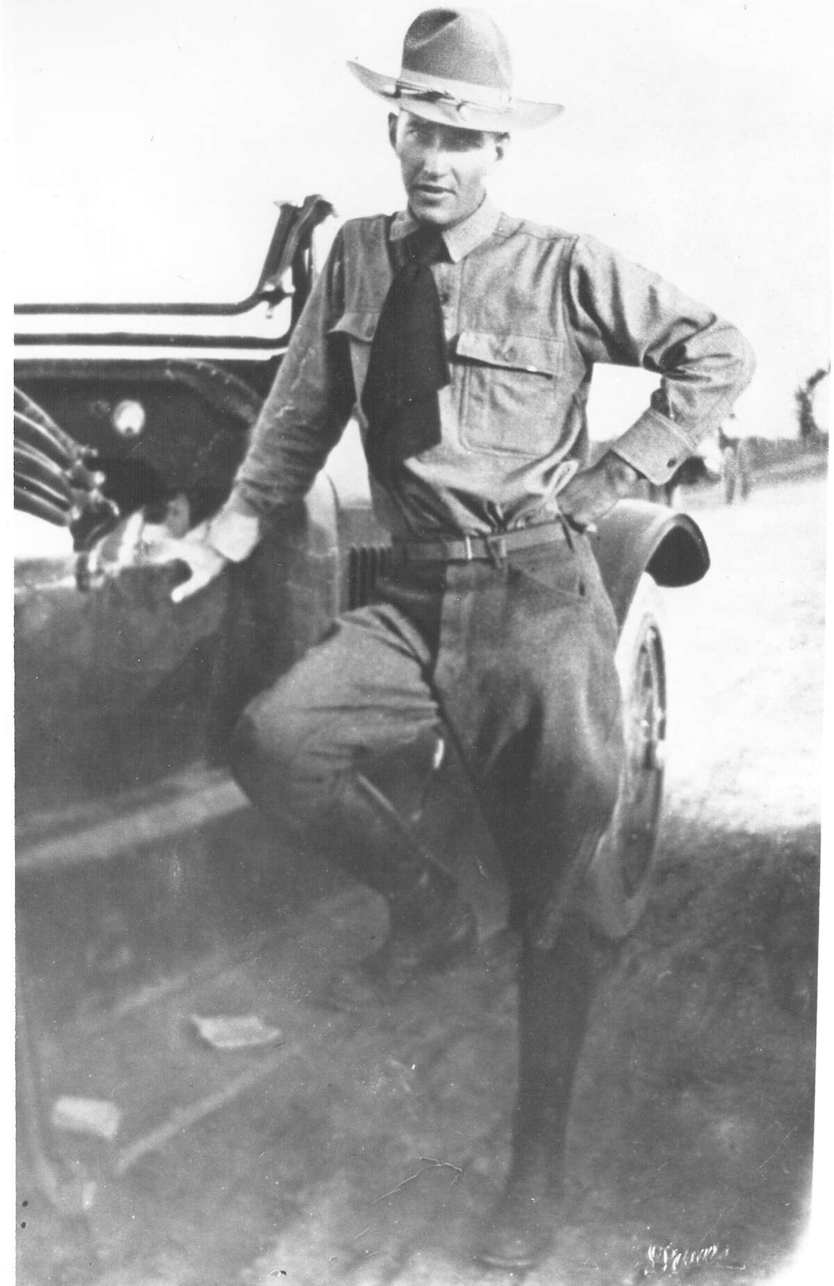 Sidney J. Brooks in this undated photo is the namesake for Brooks City Base.