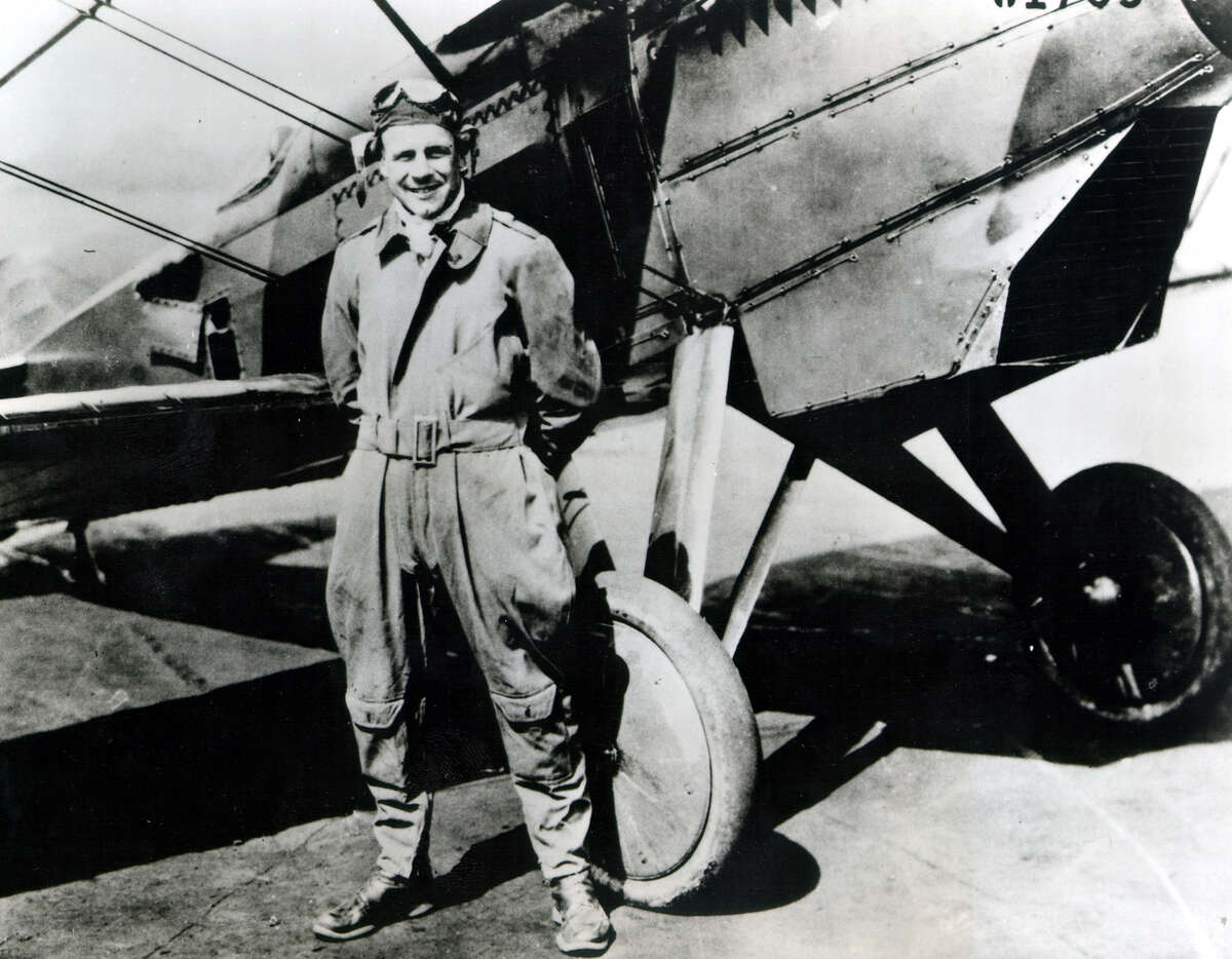"""Gen. Jimmy Doolittle 1918, 1921 Jimmy Doolittle is one of the most famous aviators of World War II. He led the famous Tokyo Raid, a bombing run made on the fifth month of the war by 16 B-25B Mitchell bombers that flew off the deck of the USS Hornet. It was the first time anyone had flown the bomber off an aircraft carrier, but the raid was even more daring for another reason - it was a one-way trip. Daring feats were a staple of his resume. Doolittle, who flew in San Antonio, pioneered instrument-only flight. He initially served with the 90th and 104th Aero Squadrons in 1918, but was back at Kelly Field three years later for air mechanics school. A lieutenant colonel on the day that he and Dick Cole, now 99, of Comfort flew off the Hornet, Doolittle received the Medal of Honor for leading the raid. Ironically Doolittle, who held degrees from the University of California at Berkeley and MIT, thought it had been a failure and expected to be court-martialed. """"He was educated, he was a very religious guy as far as keeping his word - integrity, I guess, you would call it - and he spoke what he was thinking, """" said Cole, who has a bust of Doolittle in his home. """"I always say that he was a leader by example and not by direction."""""""