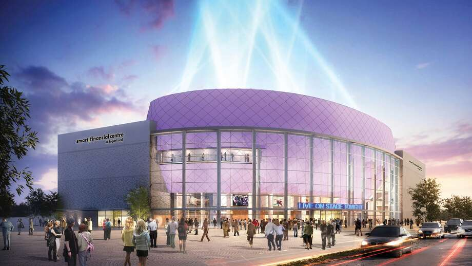 Artistic rendering of the Smart Financial Centre at Sugar Land