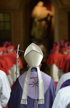 Pope Francis arrives at St. Sabina's Basilica in Rome to lead the Ash Wednesday Mass.