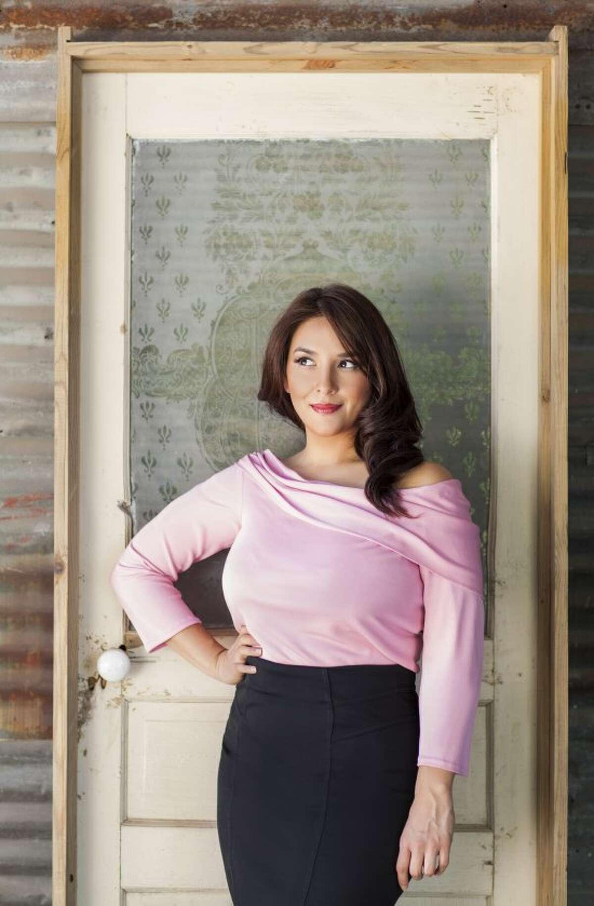 Alba Huerta outside her latest venture.