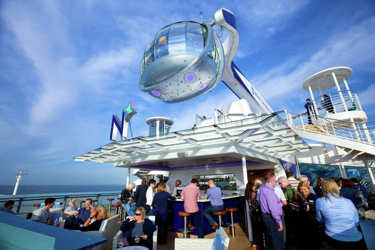 Royal Caribbean's Quantum of the Sea features an attraction called North Star, a crane arm with a jewel-shaped glass capsule that gently rises more than 300 feet in the air and delivers 360-degree views of the ocean.