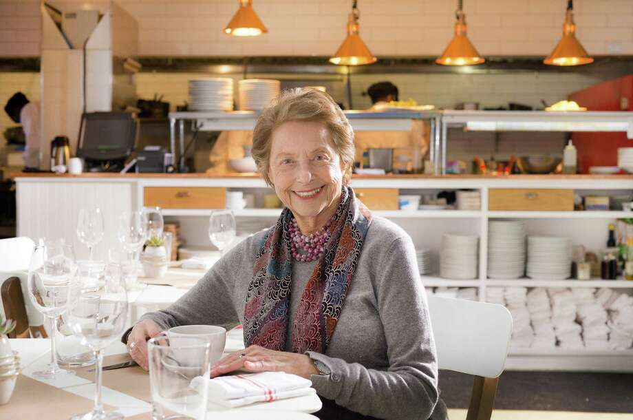 """Mimi Sheraton, an award-winning cookbook author, journalist and former restaurant critic, will be in Westport, Conn., at the library on Saturday, Feb. 28, 2015, to talk about her latest book, """"1,000 Foods to Eat Before You Die: A Food Lover's Life List,"""" along with Matt Storch, a partner and chef of South Norwalk's Match and The Chelsea in Fairfield. The program is free. For more information, visit westportlibrary.org. Photo: Contributed Photo / Stamford Advocate Contributed photo"""