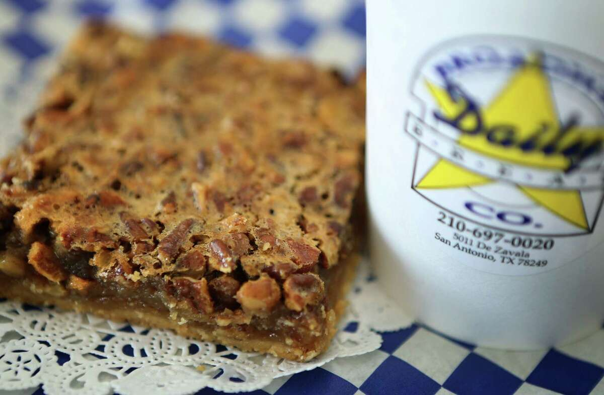 The yummy Pecan Bar from Broadway Daily Bread.